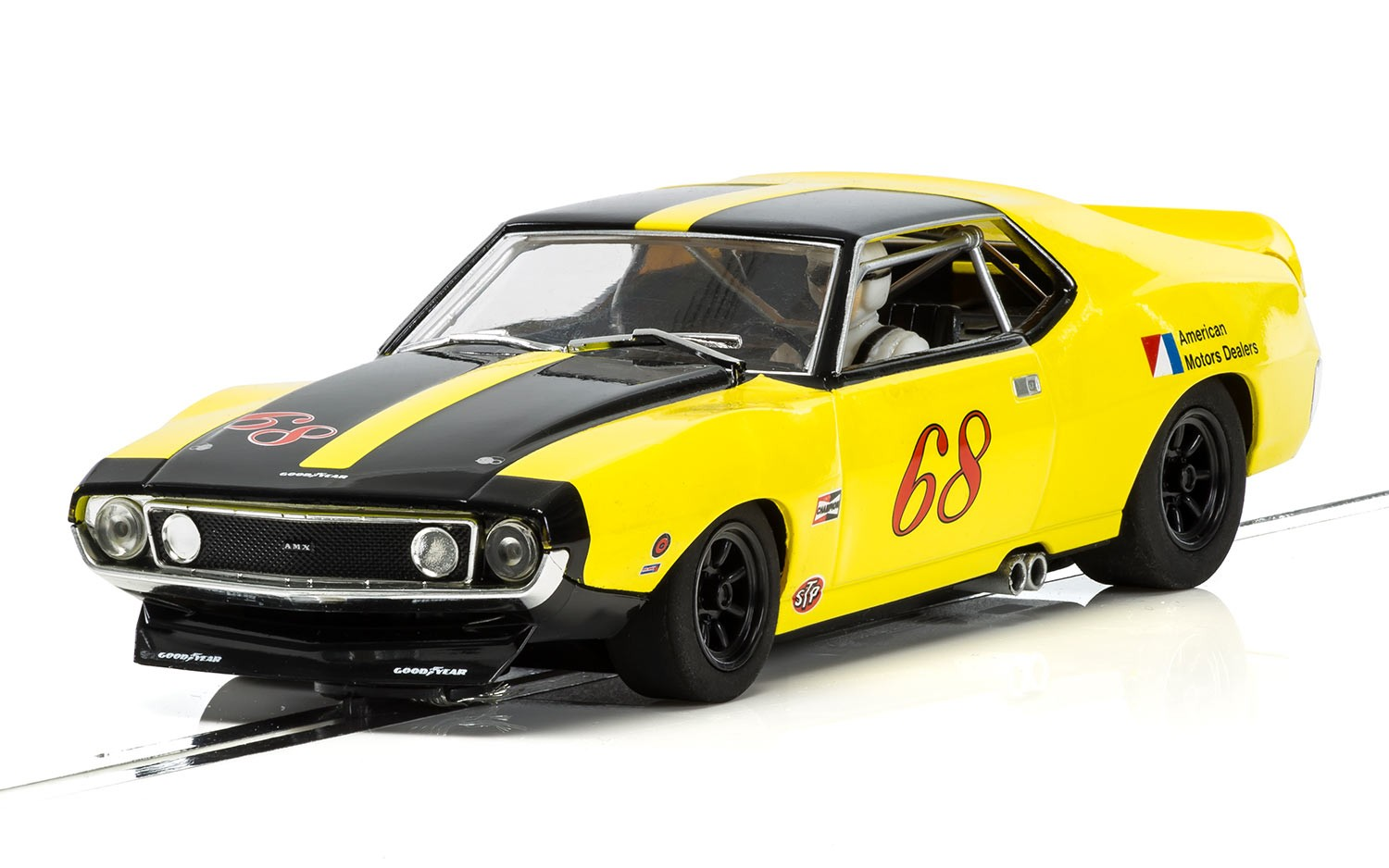 Scalextric: L'Amc Amx Javelin Trans Am 1971 - 1/32