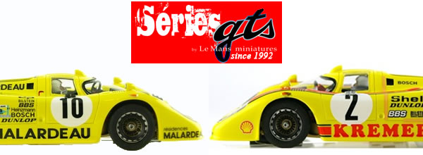 Le Mans miniatures: La Porsche 917 K Team Kremer #10 et #2