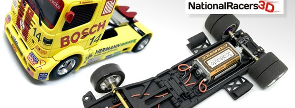 National Racers 3d Châssis 3D All-In-One