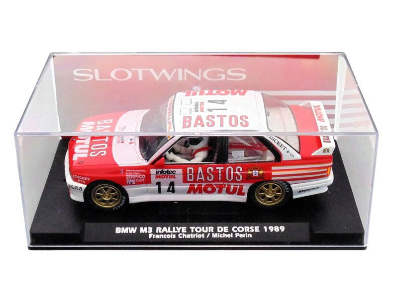 Slotwings: la BMW M3 E30 Tour de Course 1989 W03803