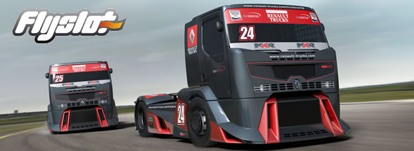 FlySlot: les photos du prototype du Renault Racing Truck 1/32