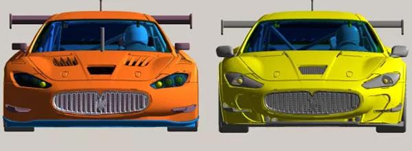 Slot.it: Deux Maserati Granturismo, la GT3 et la GT4