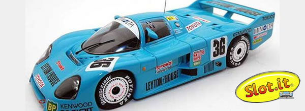 Slot.it: la Toyota 86C – Tom Co Ltd #36 – Le Mans 1986 CA41a