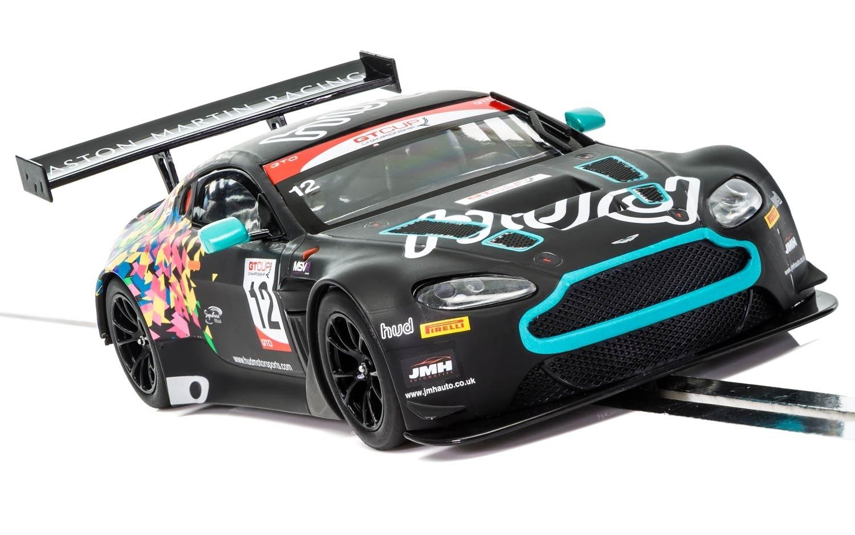 L' ASTON MARTIN GT3 VANTAGE - MARQUES HATCH GT CUP 2017 - C3945