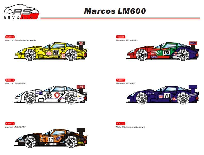 RevoSlot Les premières photos des Marcos LM600 pour le slot