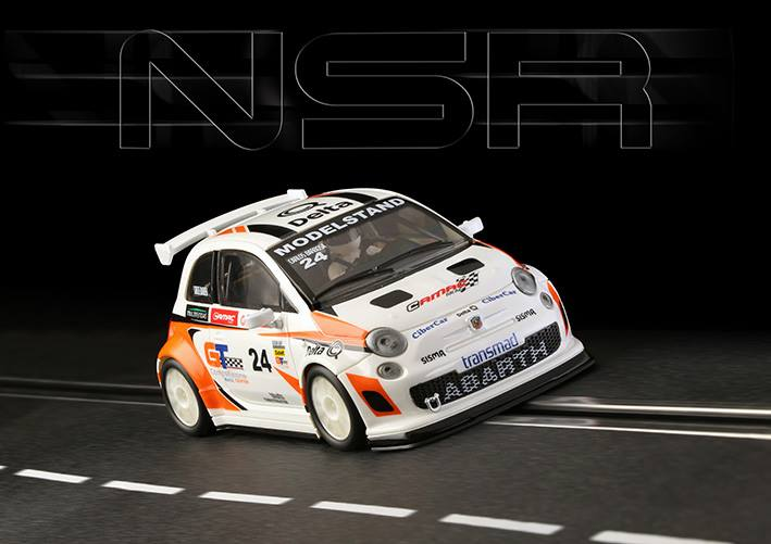 NSR Slot : La Fiat 500 Abarth- TROPHY ABARTH- Portugal 2014 # 24