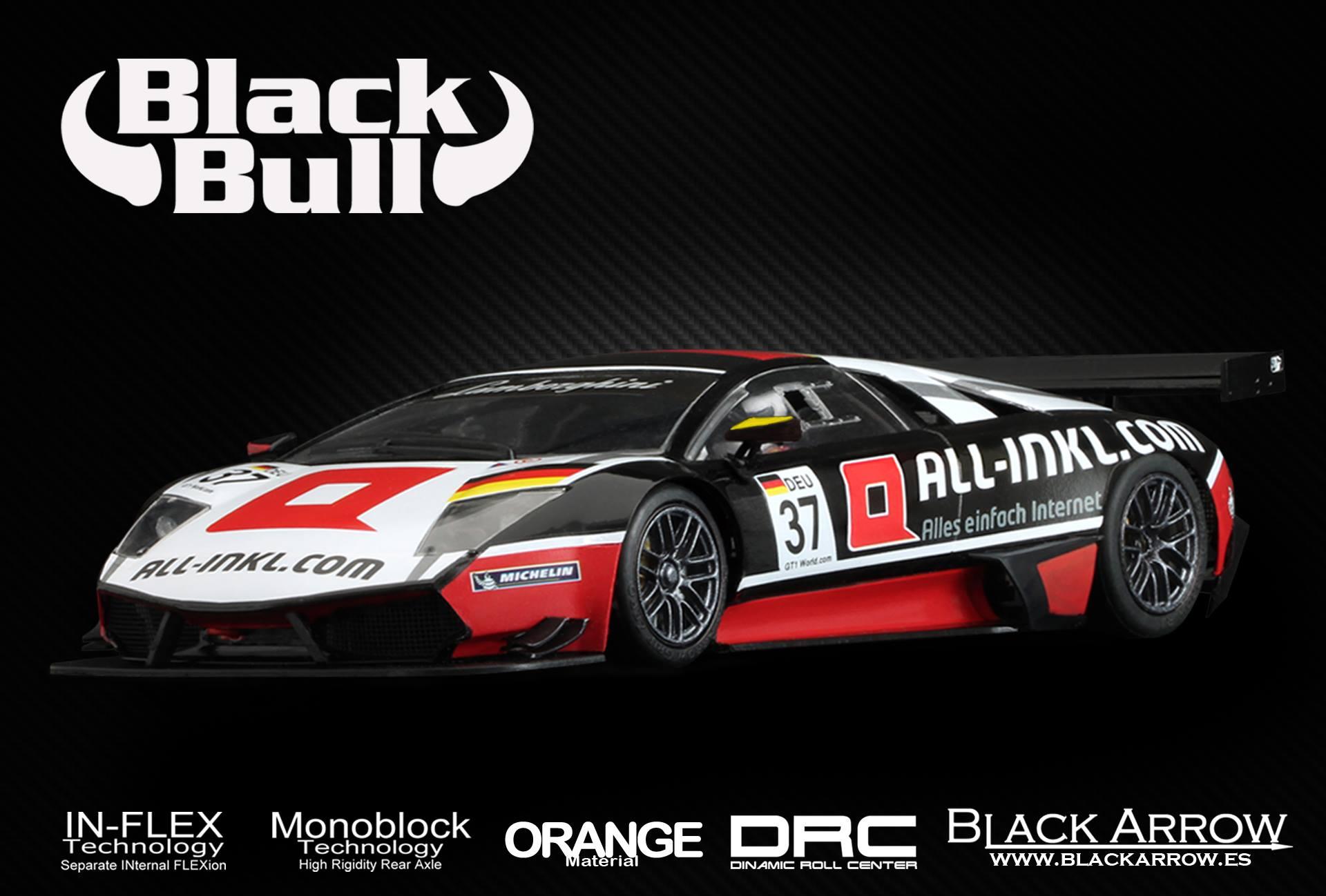 Black Arrow: la Lamborghini MURCIELAGO R-SV All-Inkl FIA GT1 2010