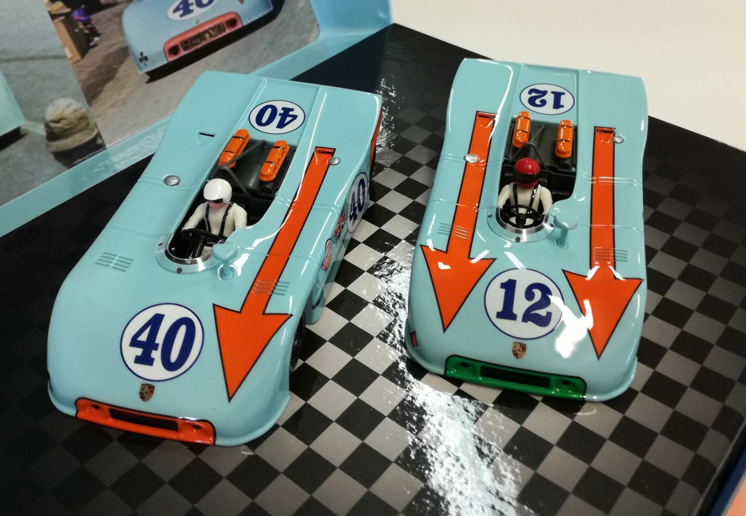NSR Slot: le coffret Poker d'As Porsche 908 TARGA FLORIO 1970