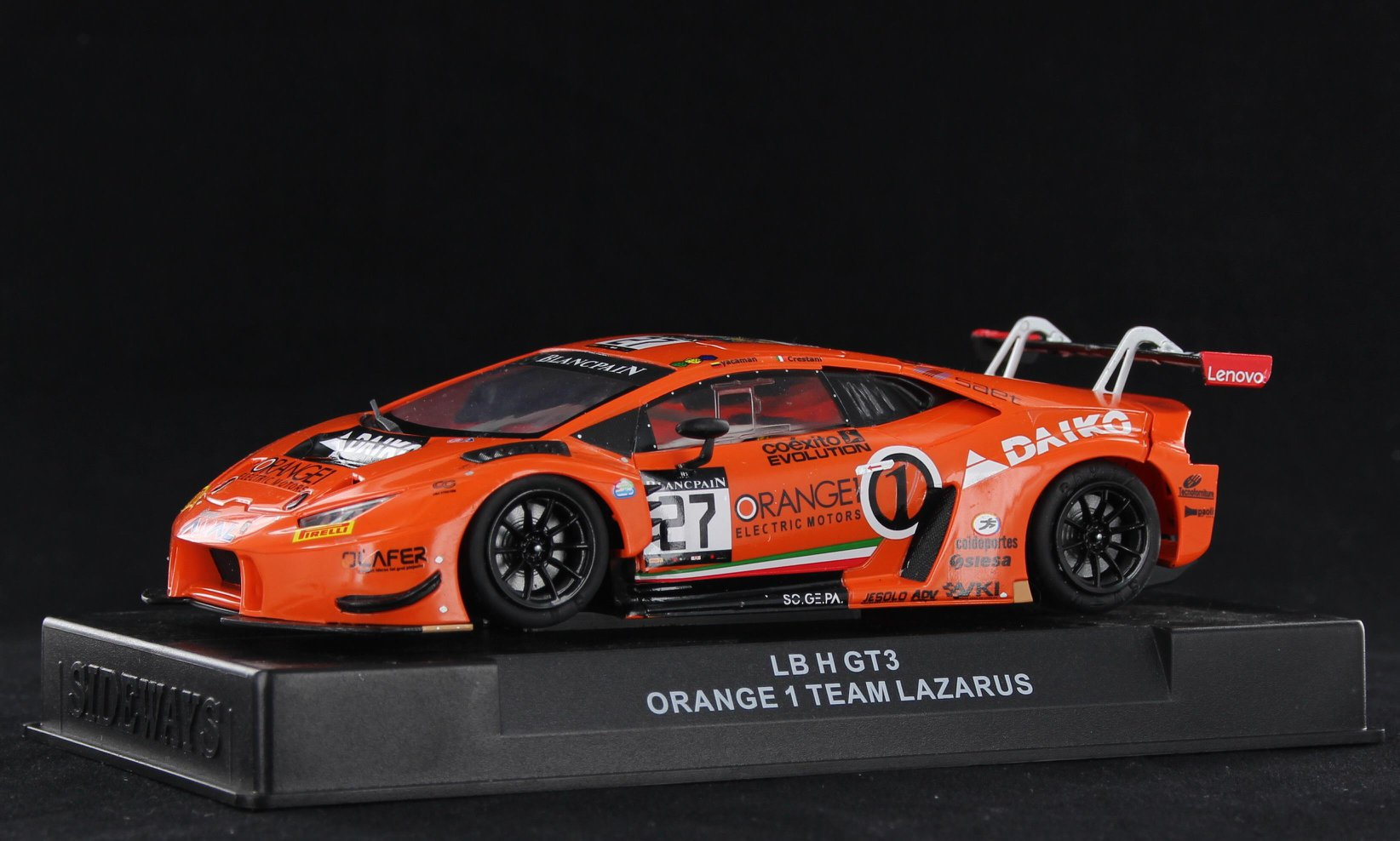 - SWCAR01D LB H Gt3 Orange 1 Team Lazarus