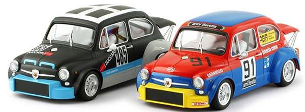 BRM et TTS : Quatre Fiat Abarth 1000 TCR 1/24