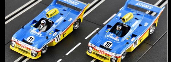 Le Mans miniatures: les Mirage Renault Gr8 Le Mans 1977