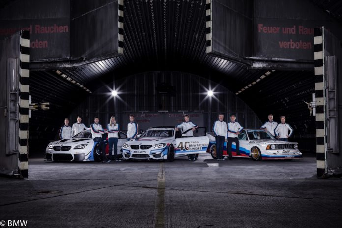 Les 40 ans de la BMW TEAM JUNIOR