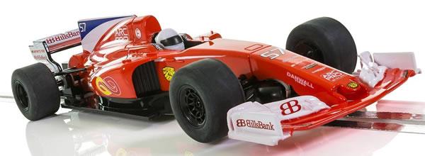 Scalextric: le programme des sorties F1 à l'échelle 1/32