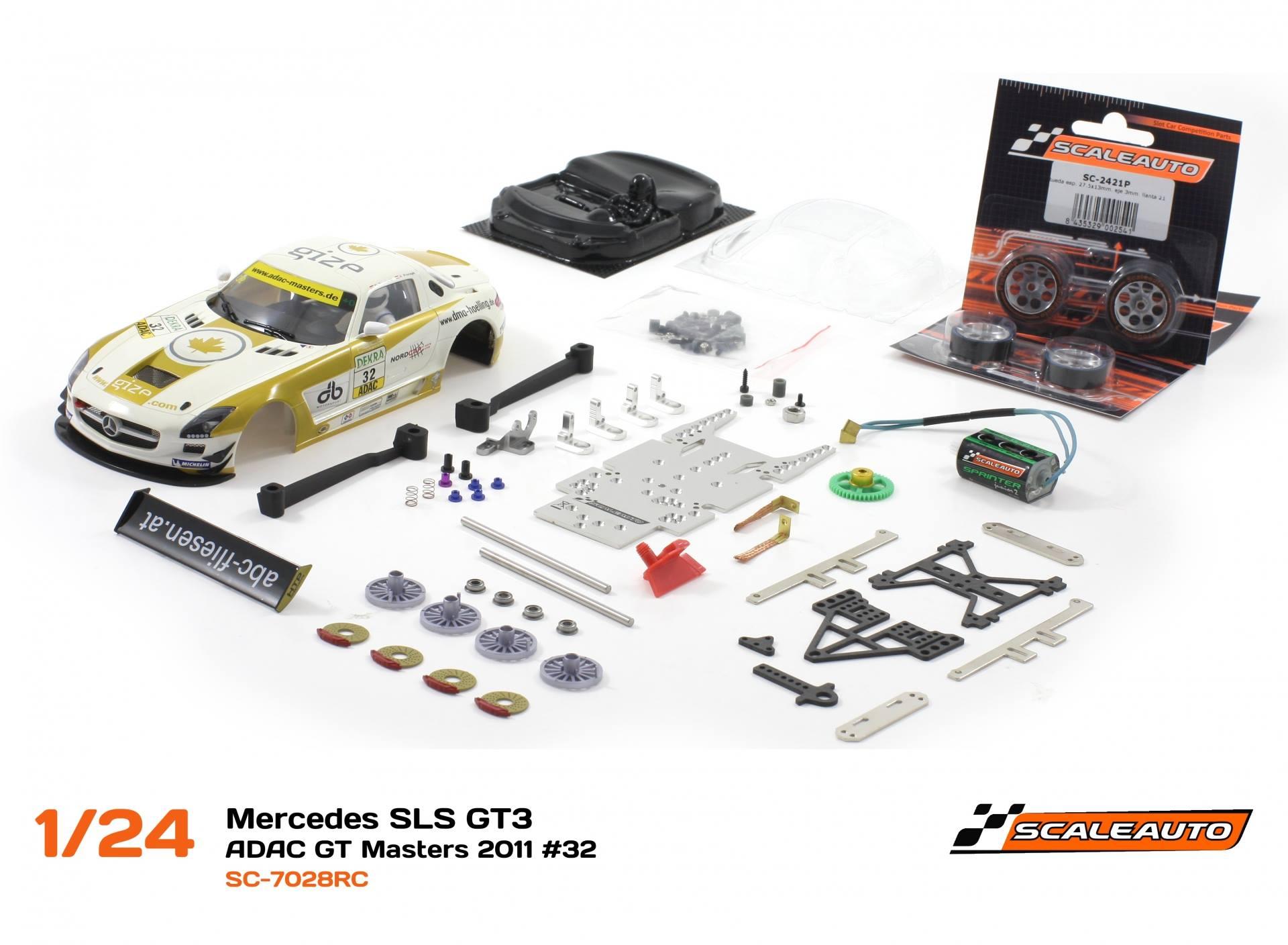 Mercedes SLS GT3 – ADAC GT Masters 2011 #32 – SC-7028RC