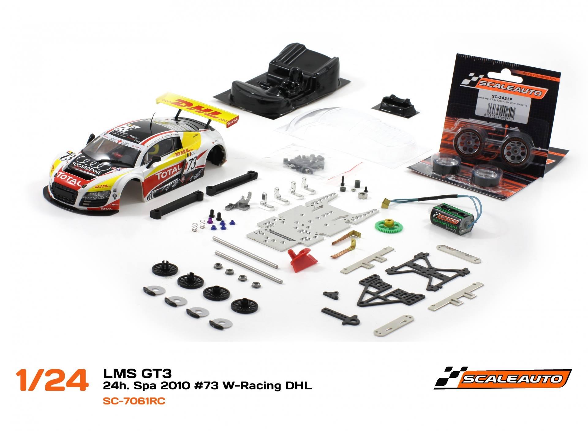 AUDI R8 LMS GT3 – 24h de Spa 2010 #73 W-Racing DHL – SC-7061RC