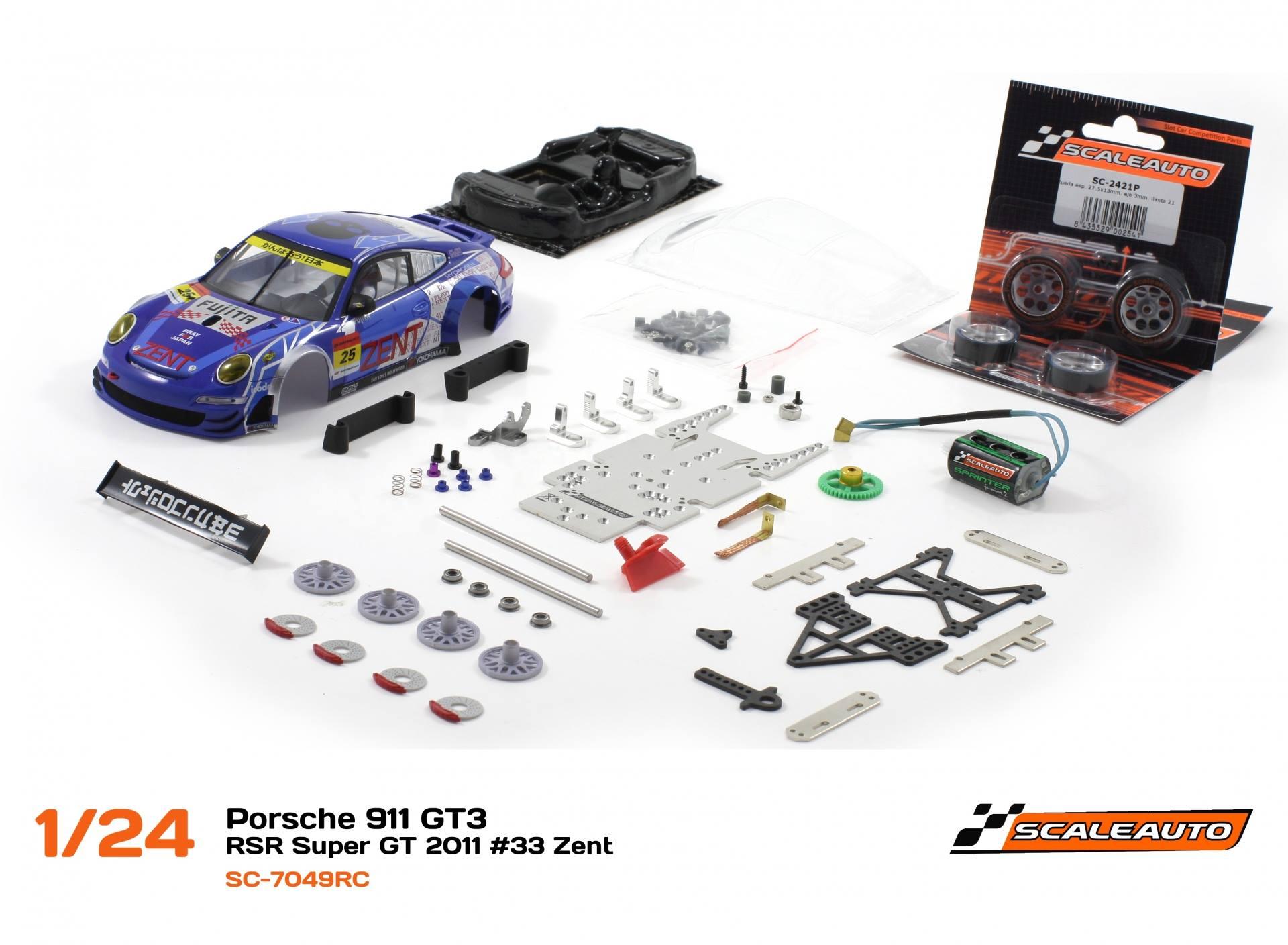 Porsche 911 GT3 – RSR Super GT 2011 Zent #33 – SC-7049RC
