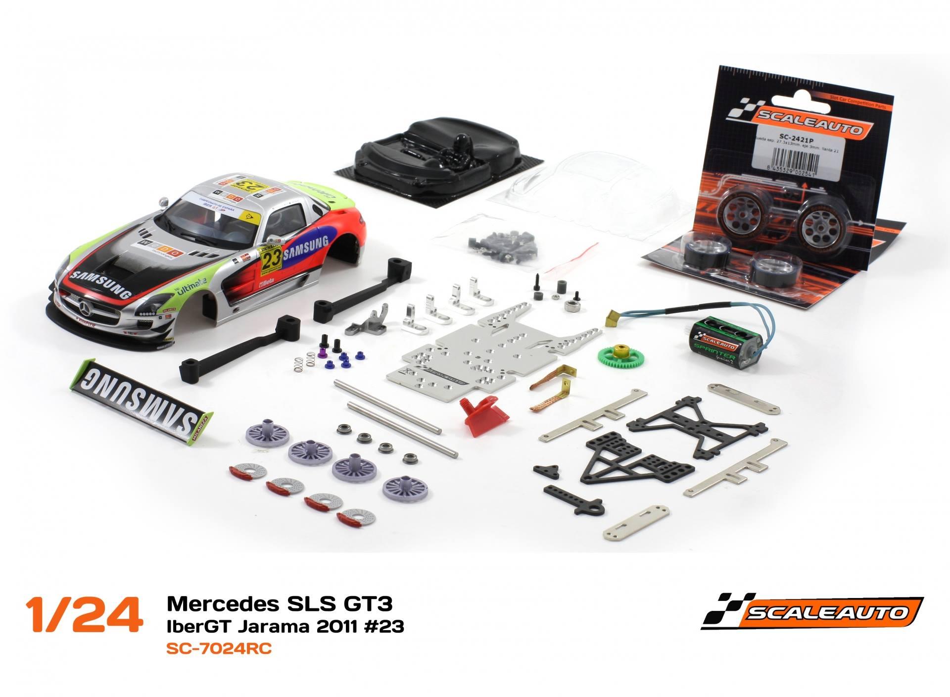 Mercedes SLS GT3 – Iber GT Jarama 2011 #23 – SC-702eRC