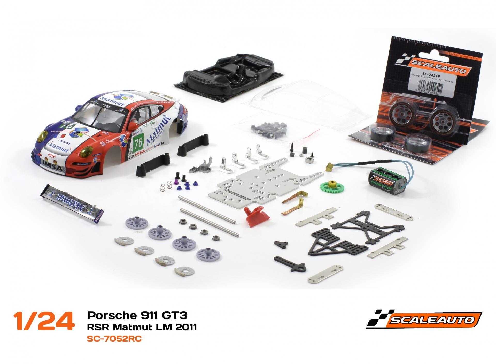 Porsche 911 GT3 – RSR Matmut LM 2011 #76 – SC-7052RC