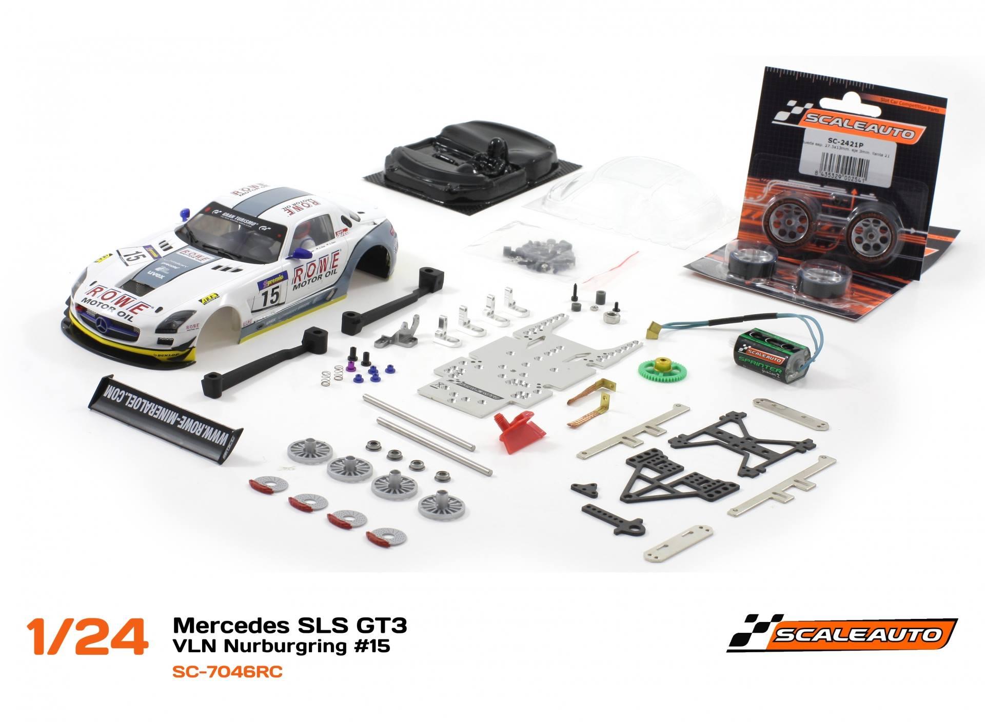 Mercedes SLS GT3 – VLN Nurburgring #15 – SC-7046RC