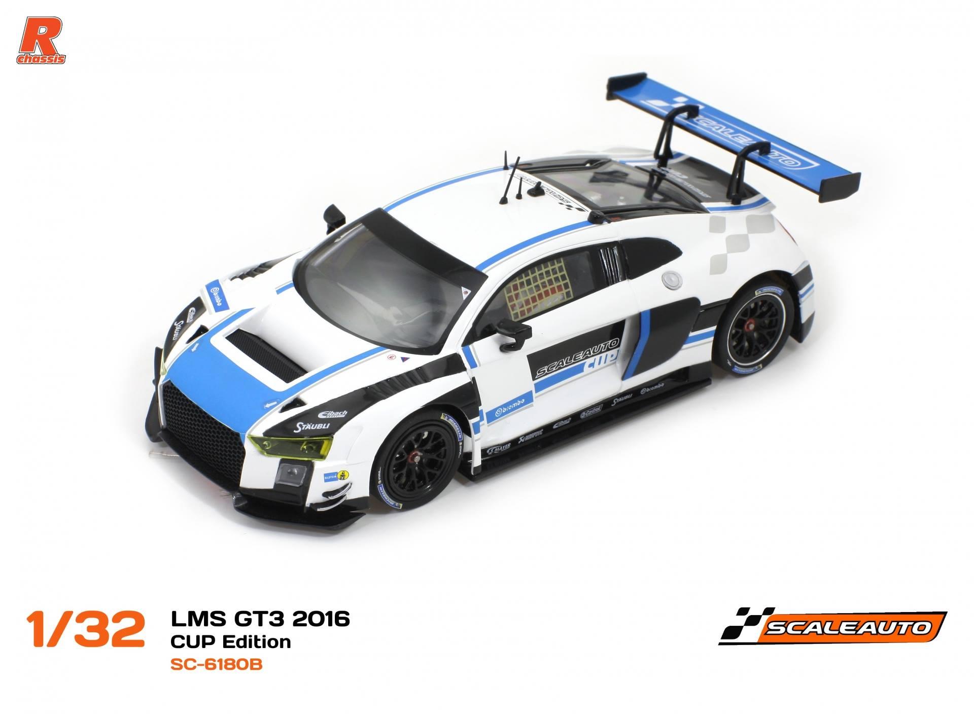 SC-6180 B LMS Gt3 Cup édition blanc / Bleu R-version AW