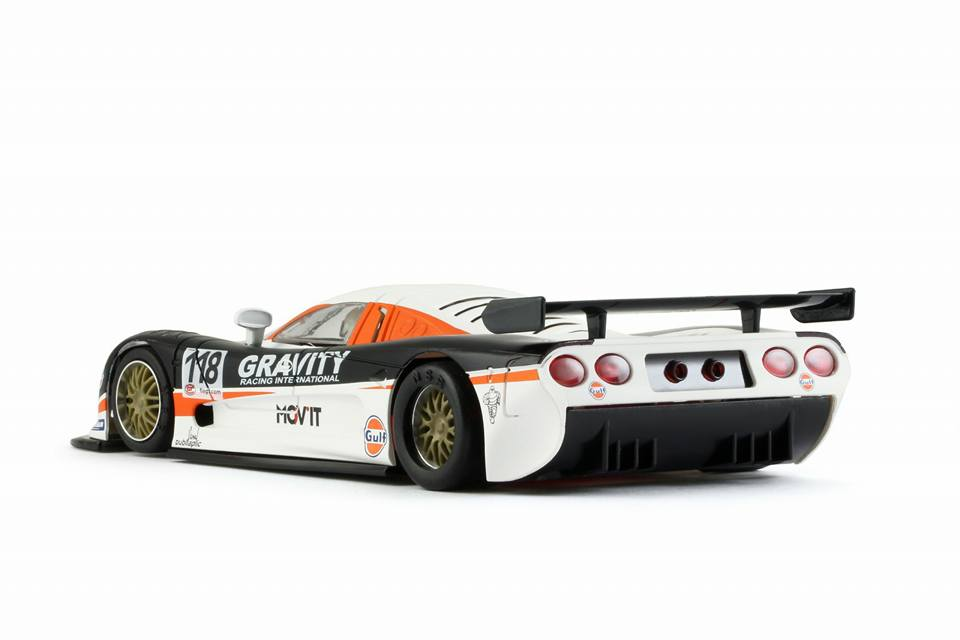 NSR Slot: La Mosler MT 900 R EVO3 Gravity 24h Spa 2009 #118