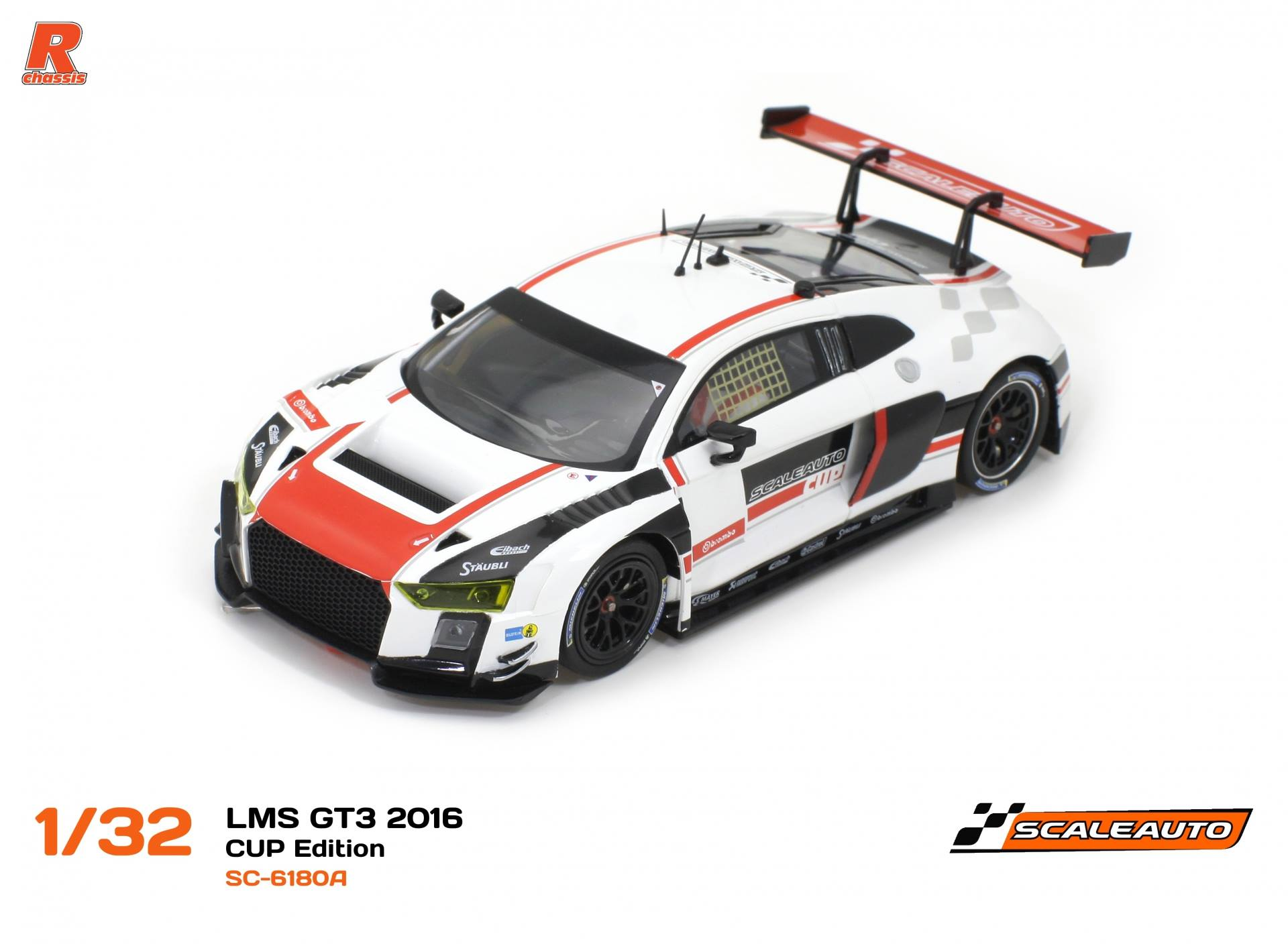 SC-6180 A LMS Gt3 Cup édition blanc / Rouge R-version AW.