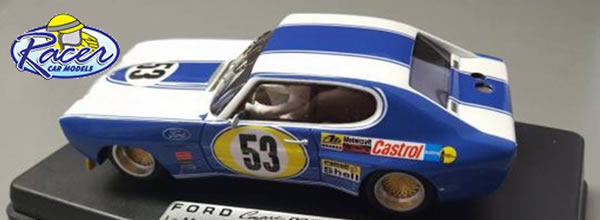 Racer Car Models: La Ford Capri rs2600 - 24 h. H Le Mans de 1972