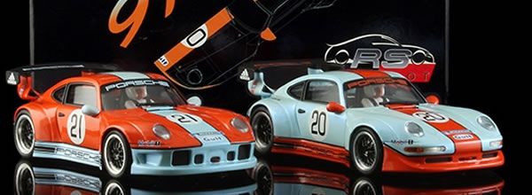 Revoslot: Porsche 911 GT2 les nouvelles livrées et un coffret Special Gulf Edition