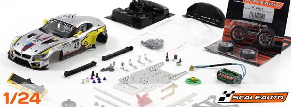 Scaleauto: Réédition de Kits GT3 à l'echelle 1/24