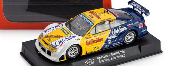 Slot.it: L'Opel Calibra V6 – n°2 Avus Ring – DTM/ITC 1995
