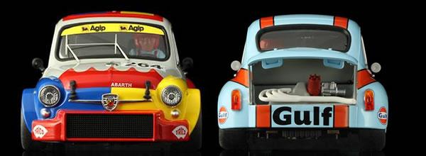 TTS: les photos des Fiat Abarth 1000 TC à l'échelle 1/24