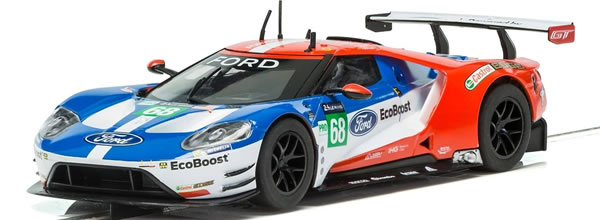 Scalextric: la Ford GT GTE Le Mans 2017 No.68 est disponible