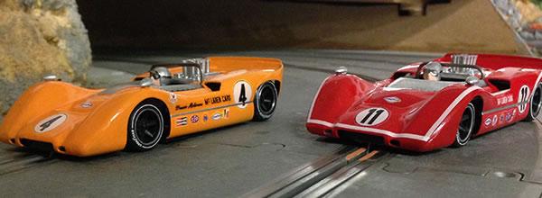 Thunder Slot: la McLaren M6A arrive sur les pistes de slot