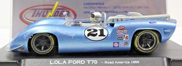 Thunderslot: La Lola T70 Can-Am – 1968 #21 Mario Andretti  CA00203