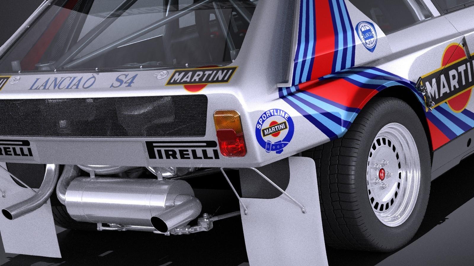 SRC : la Lancia Delta S4 Groupe B en projet pour 2019-2020