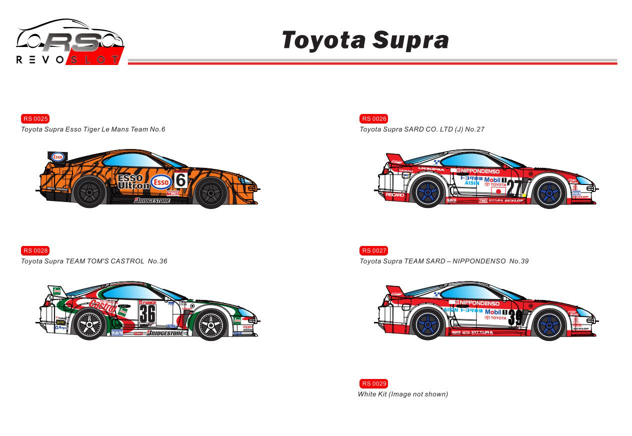 Toyota Supra RévoSlot