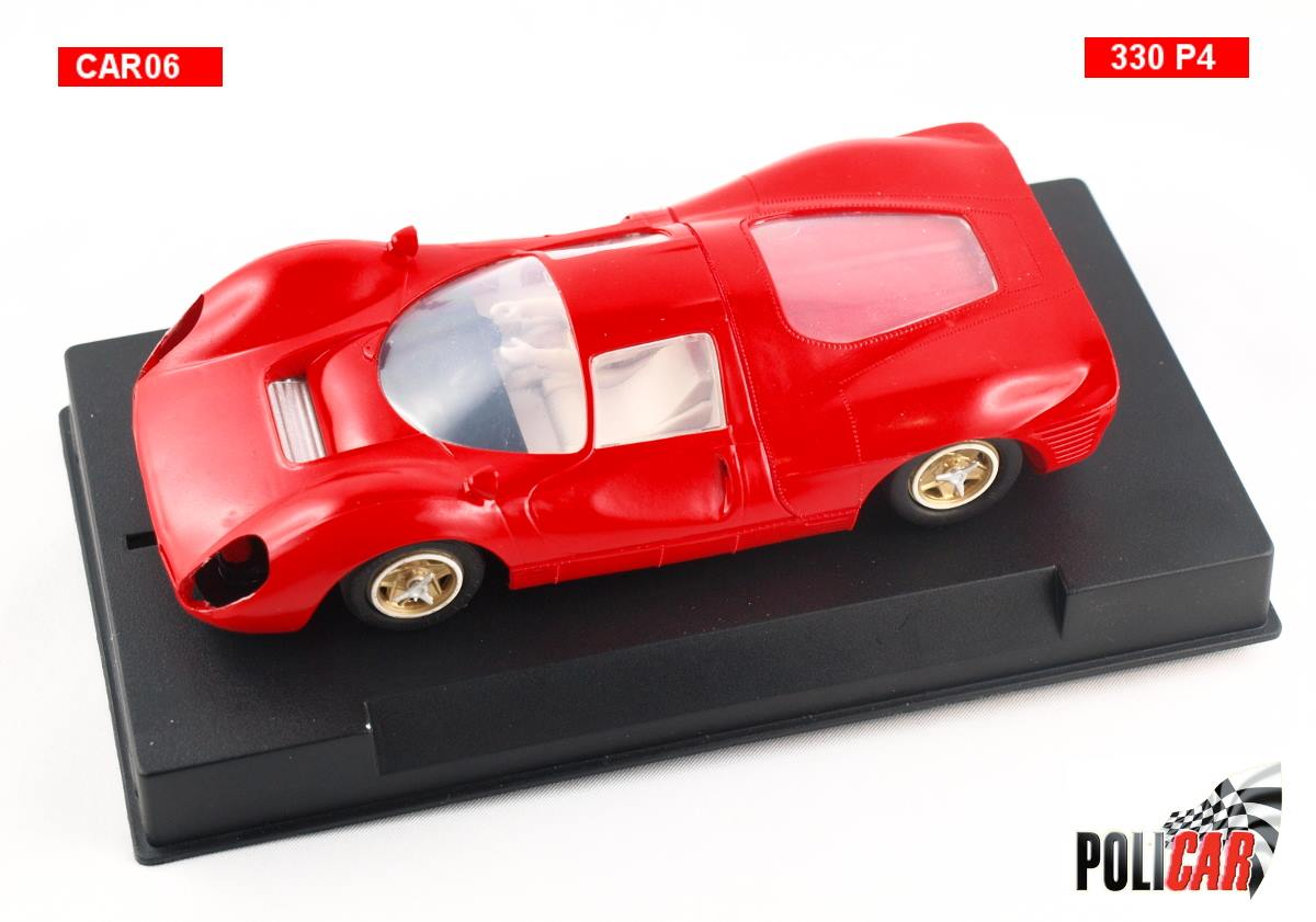 Policar: le prototype version plastique de la Ferrari 330 P4