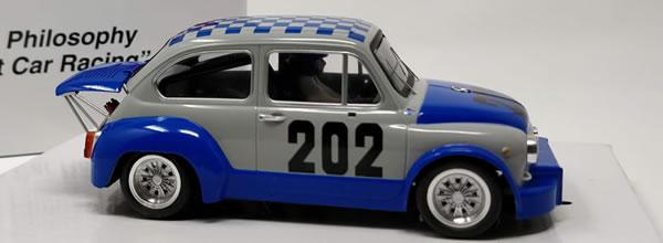 BRM – NSU: Quatre nouvelles livrées pour la Fiat Abarth 1000 TCR 1/24