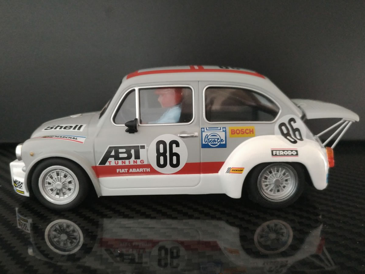 "BRM FIAT ABARTH 1000 TCR Gr.2 n.86 ""ABT TEAM"" 24H Spa Francorchamps EDITION"