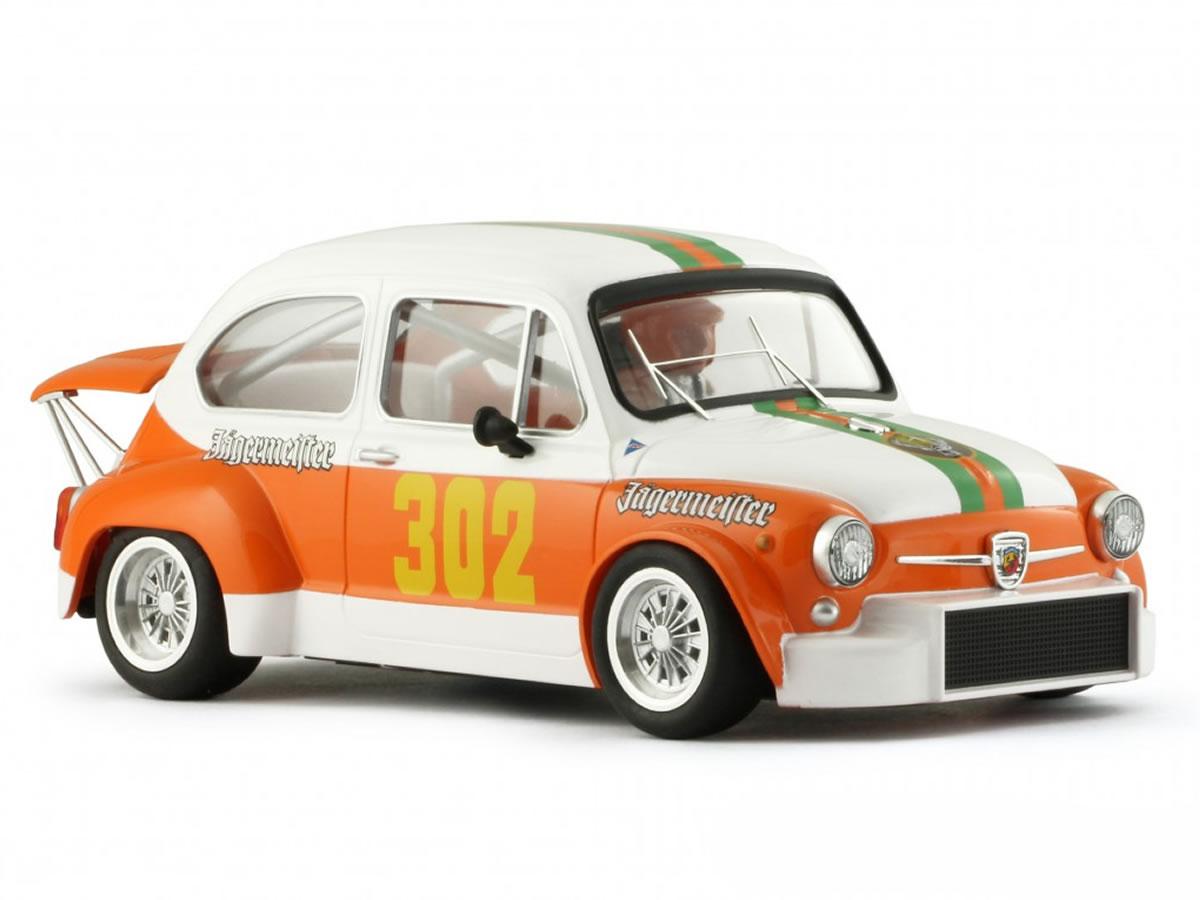 BRM FIAT ABARTH 1000 TCR JAGERMEISTER n.302 BOLZANO - MENDOLA 1972 - MAURIZIO CAMPANINI