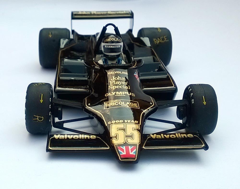 Jean-Pierre Jarier - Lotus 79 1978 JPS - Échelle 1/32