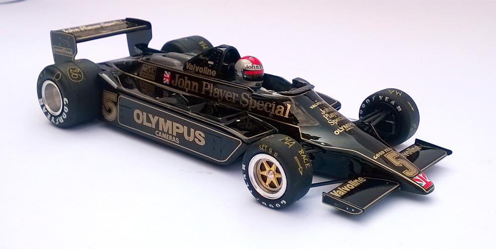 Mario Andretti - Lotus 79 1978 JPS - Échelle 1/32