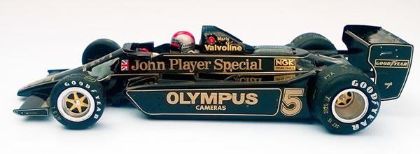 Ostorero: Les deux Lotus 79 JPS de Andretti et Jarier