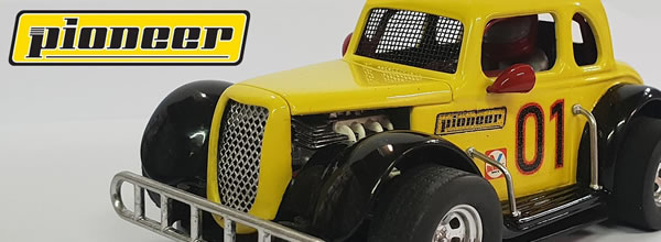 Pioneer Slot Car: la Ford Coupé 34 – dans sa version TEST