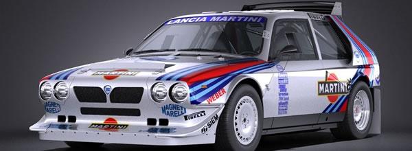 SRC: des indiscrétions sur la Lancia Delta S4 – 1/32