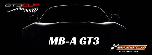 Scaleauto: dévoile sa nouvelle GT3 à l'echelle 1/32