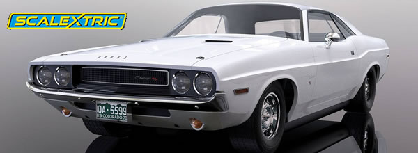 Scalextric : la Dodge Challenger 1970 C3935