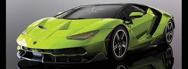 Scalextric : la Lamborghini Centenario Green