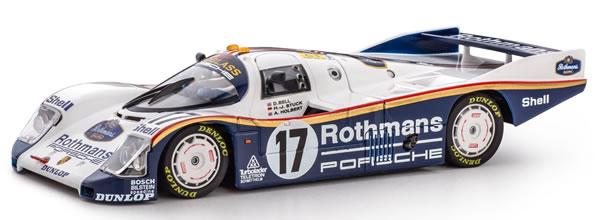 Slot.it: La Porsche 962C Le Mans 87 - Le Mans Winner Collection