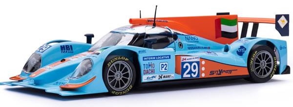 Slot.it : Lola B12/80 – Gulf – n°29 – 24h Le Mans 2012 – SI-CA39B
